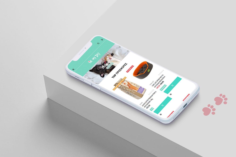 H Think Plus υλοποίησε το Shopify eshop του Be My Pet