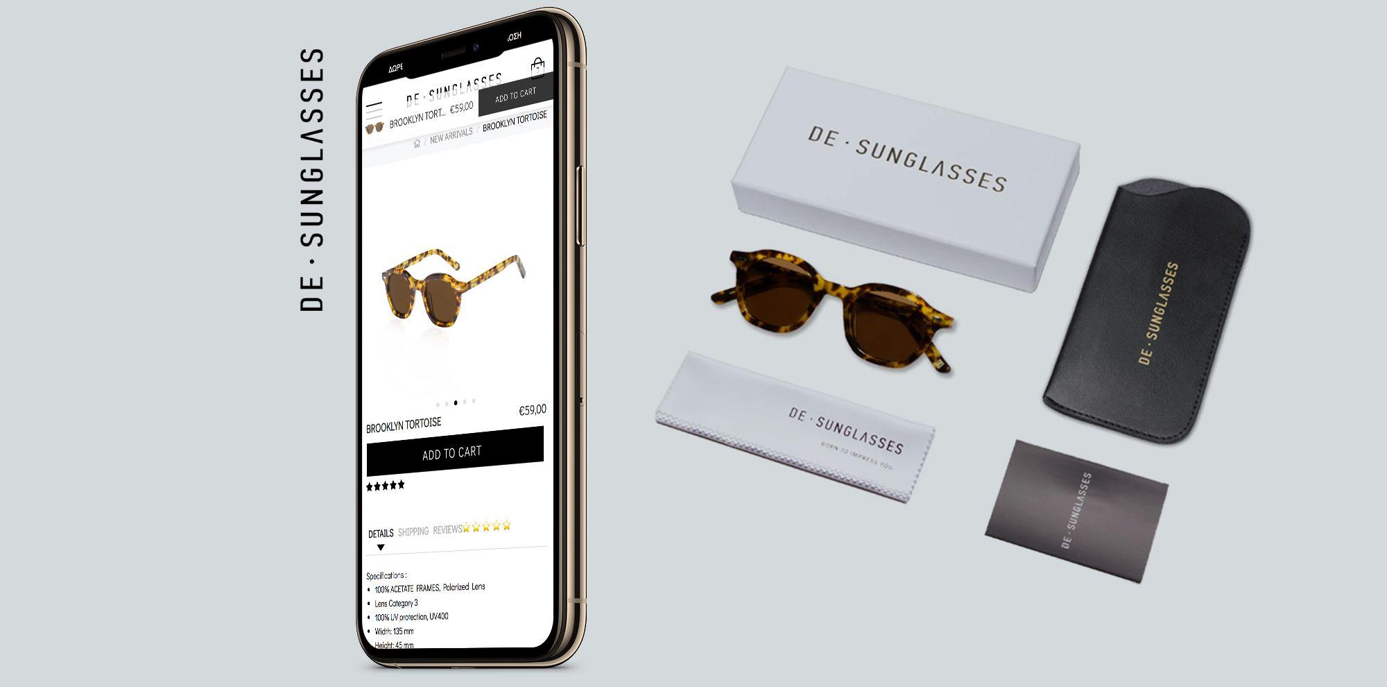 Η Think Plus παρουσιάζει το νέο εντυπωσιακό eshop του DE-SUNGLASSES