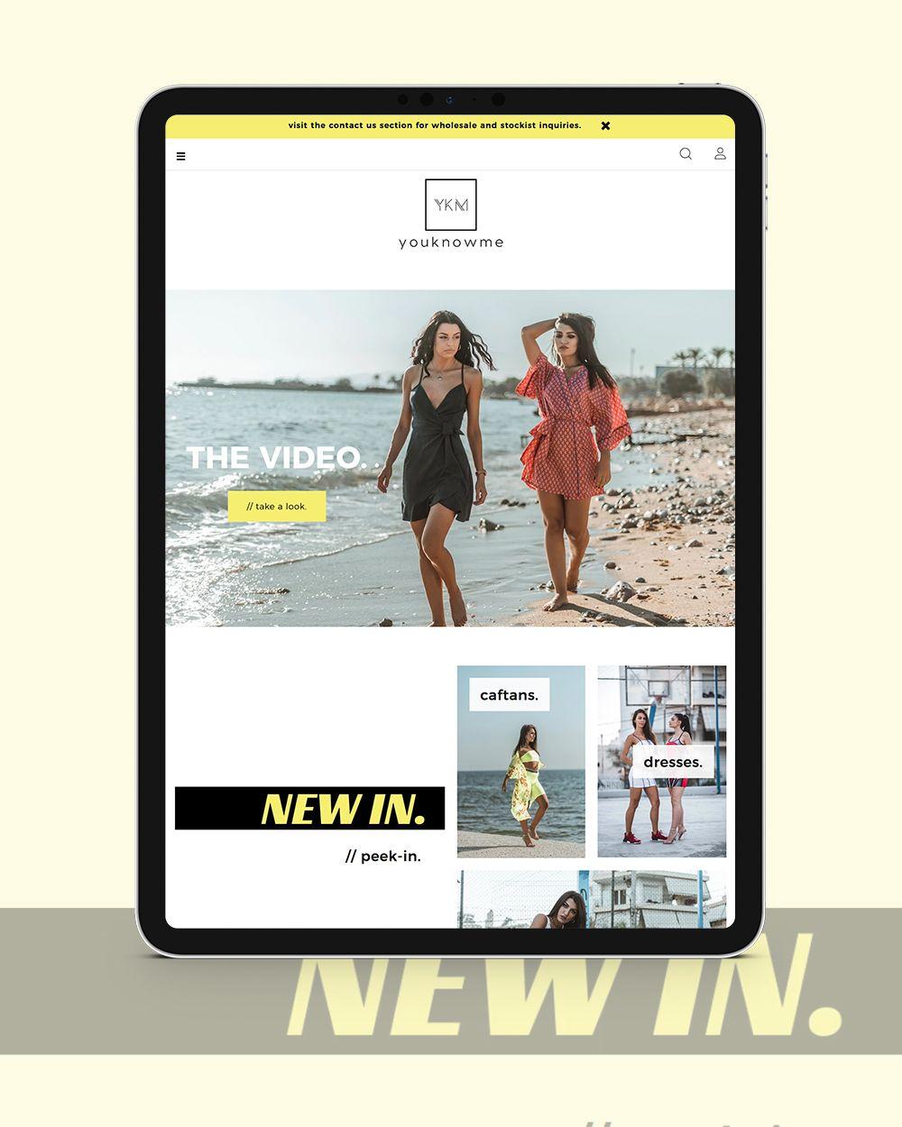 Η Think Plus παρουσιάζει το νέο eshop του YKM group,youknowme.gr