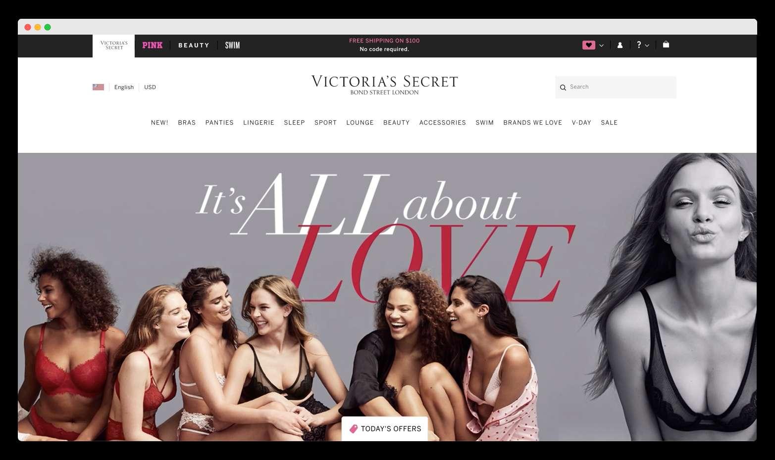 xrwmata brand victoria secret