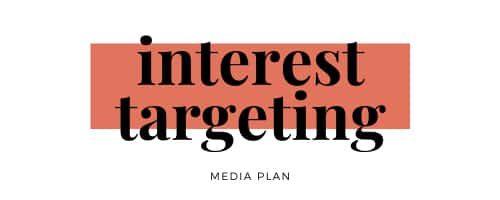 media-plan-interest-targeting