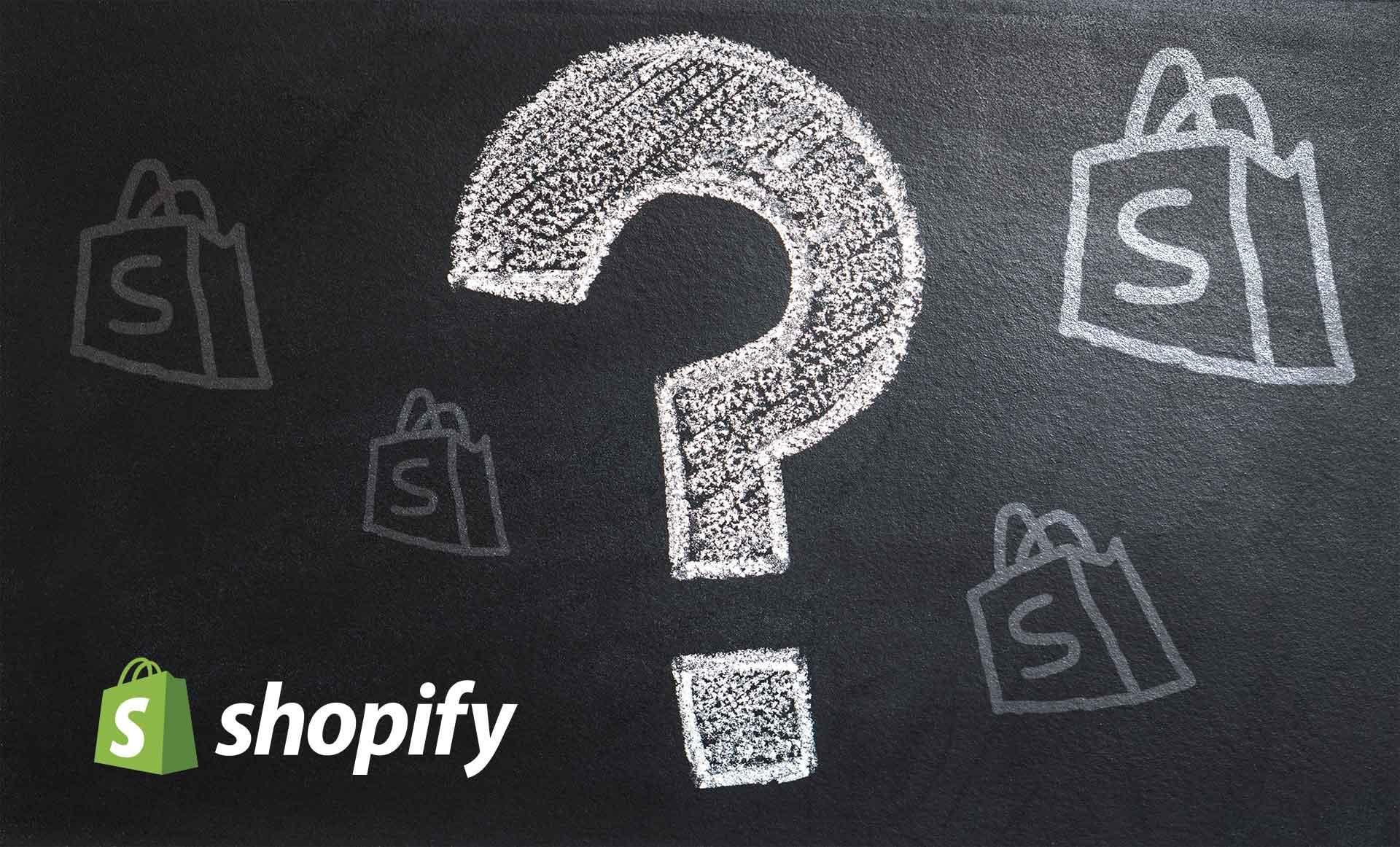 Shopify συχνές ερωτήσεις - FAQ